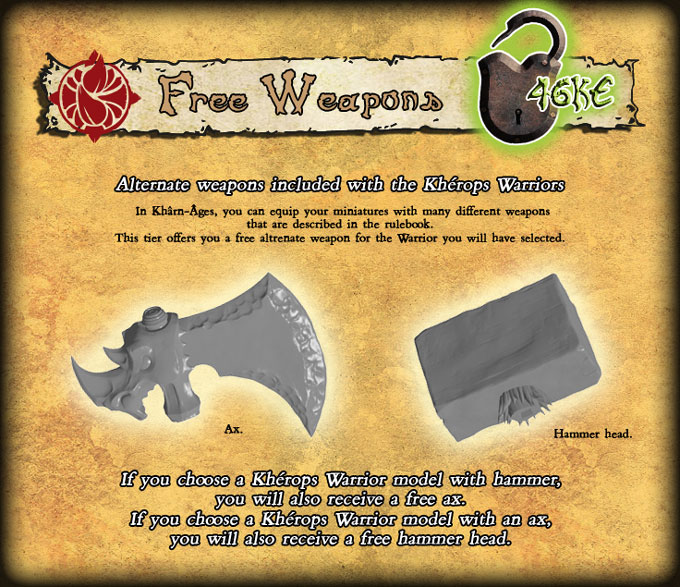 046 armes kherops unlocked
