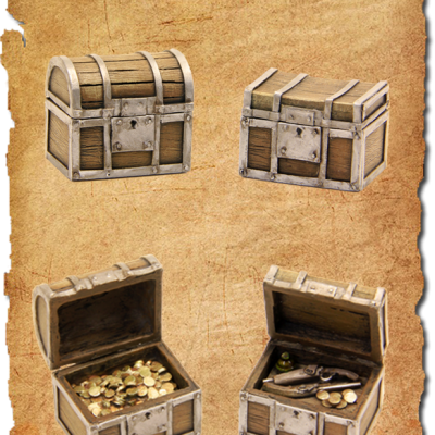 2 treasure chests