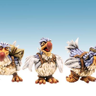 3 dodos