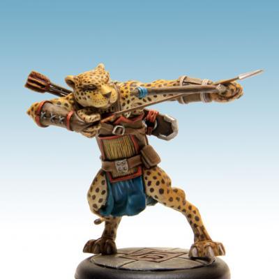 Houyi, archer impérial (en tir)