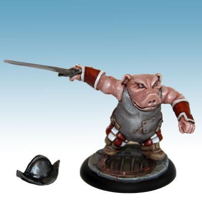Militia Swordman