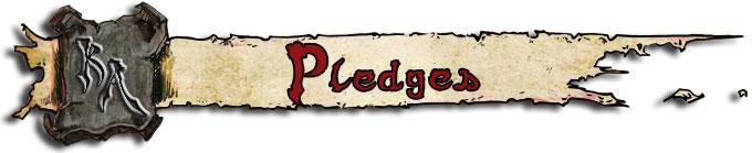Pledges