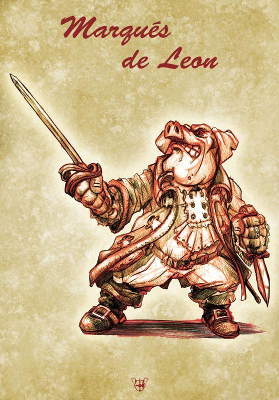 Carte postale quintors v2 de leon