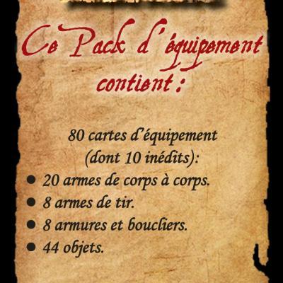 Pack d'équipements