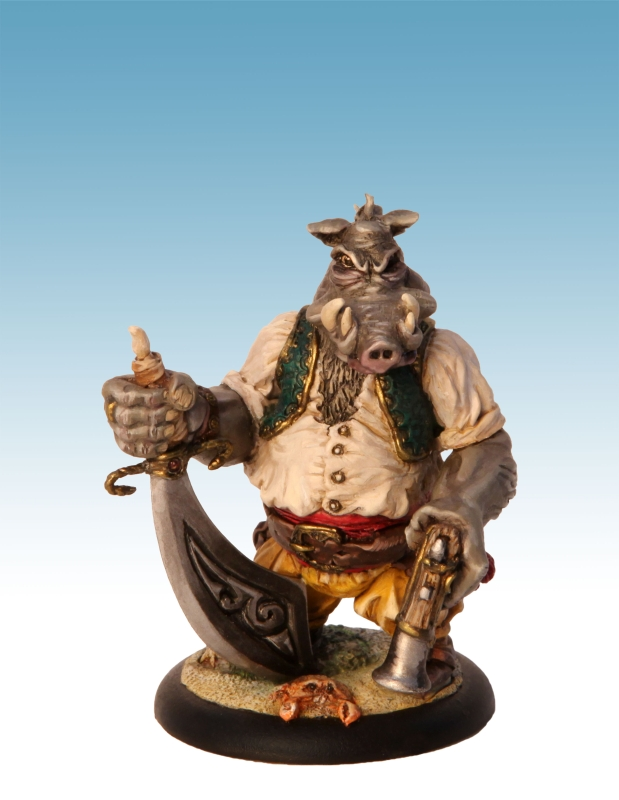 Magog warth face 1