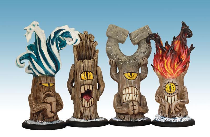 Totems x 4
